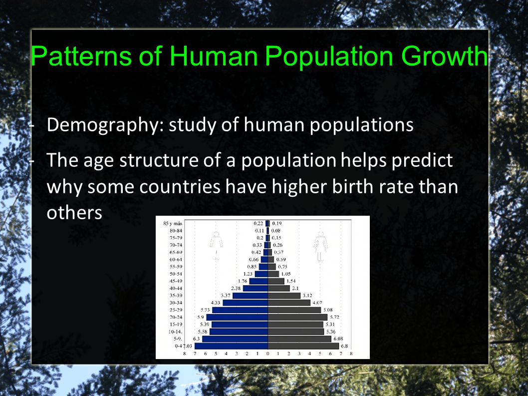 Patterns of Human Population Growth