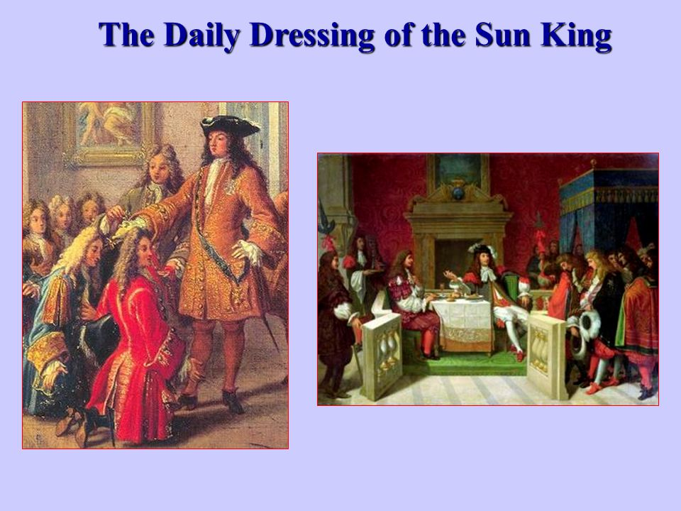 The Daily Dressing of the Sun King