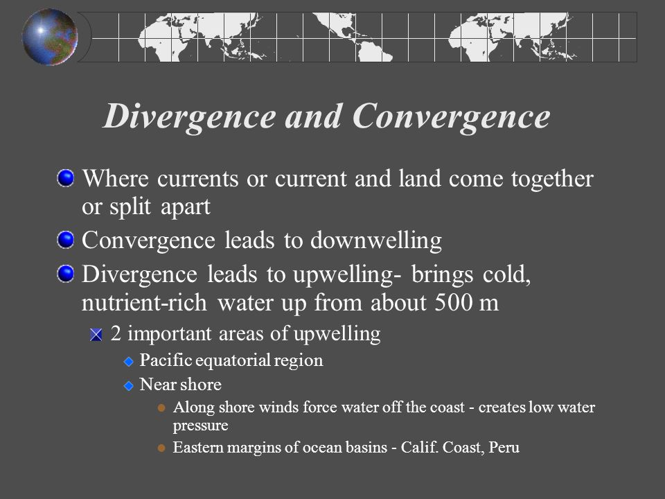 Divergence and Convergence