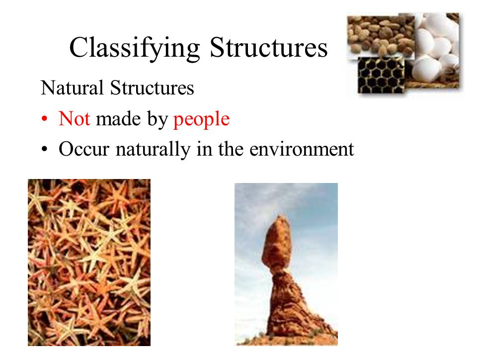 Classifying Structures