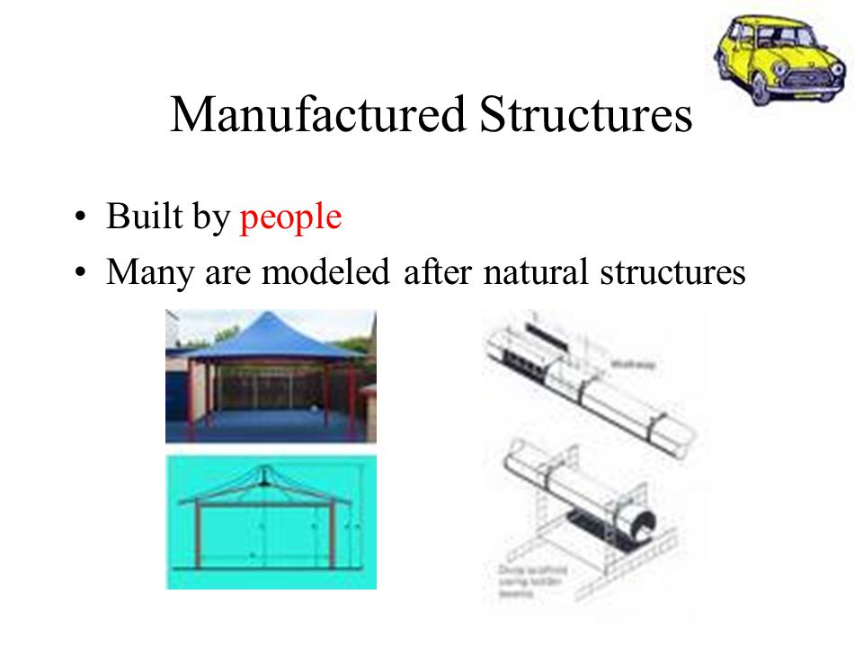 Manufactured Structures