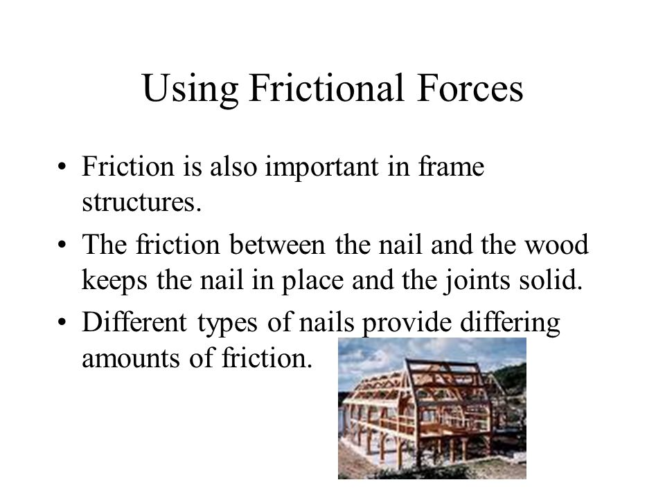 Using Frictional Forces