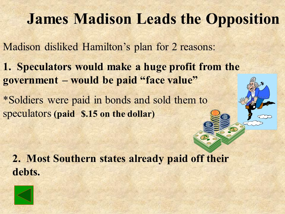 James Madison Leads the Opposition