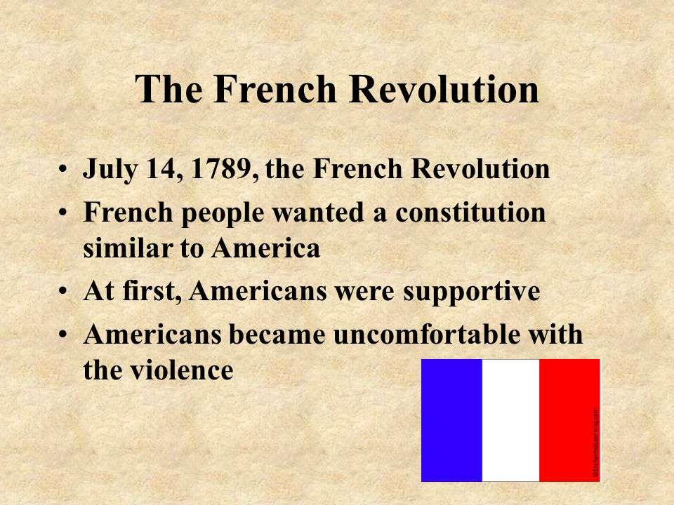 The French Revolution July 14, 1789, the French Revolution