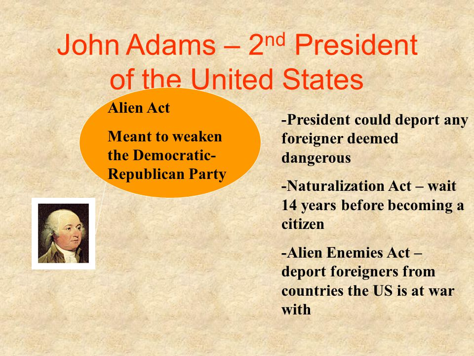 John Adams – 2nd President of the United States