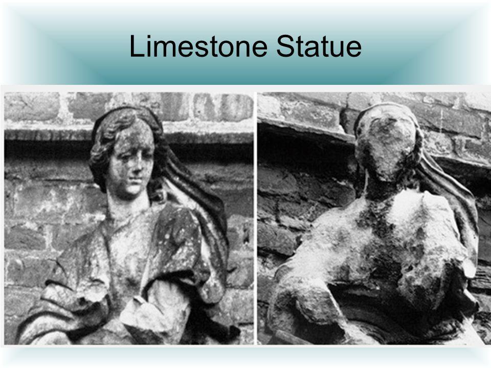 Limestone Statue