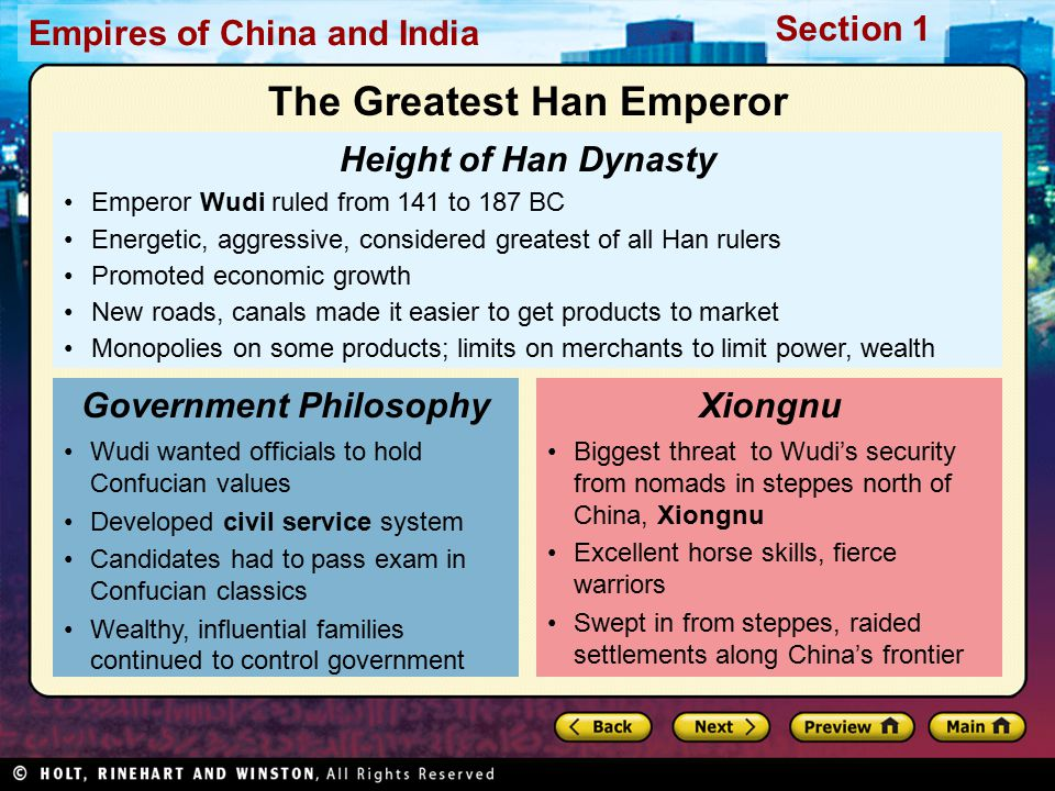 The Greatest Han Emperor