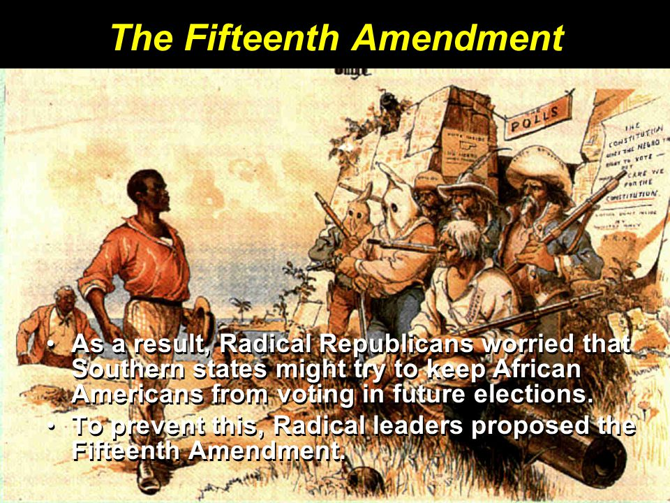 The Fifteenth Amendment
