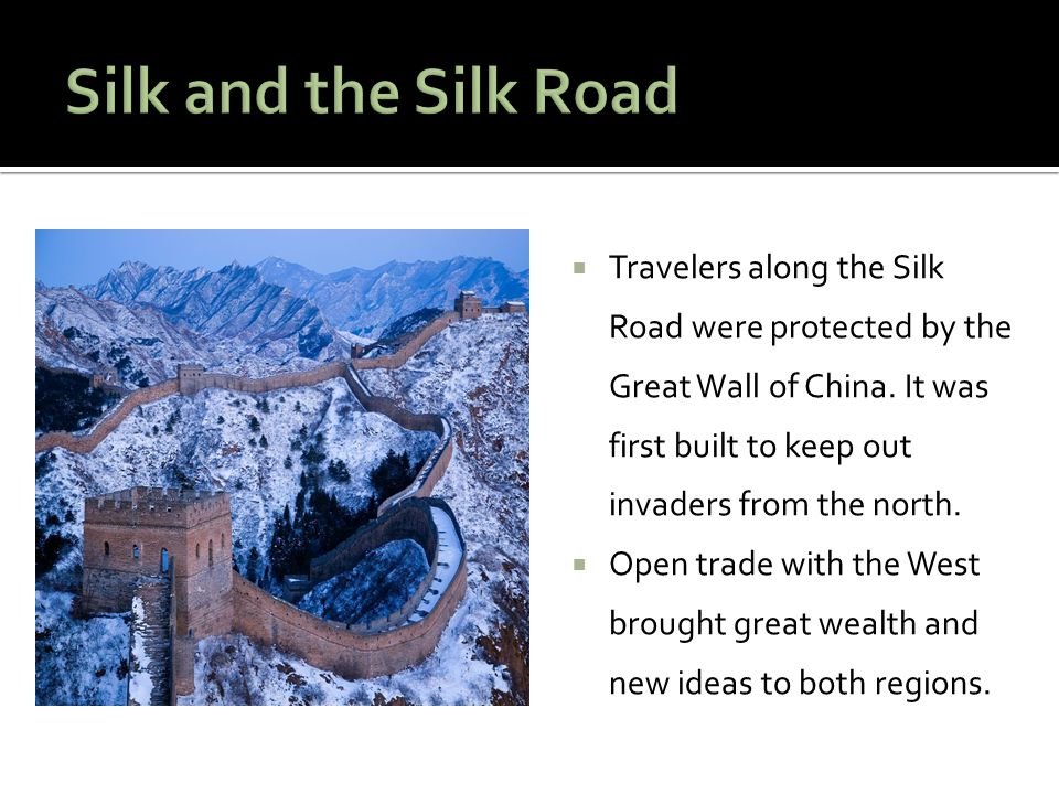 Silk and the Silk Road