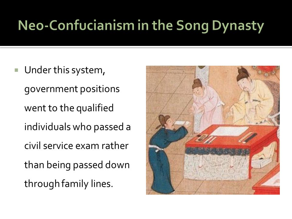 Neo-Confucianism in the Song Dynasty