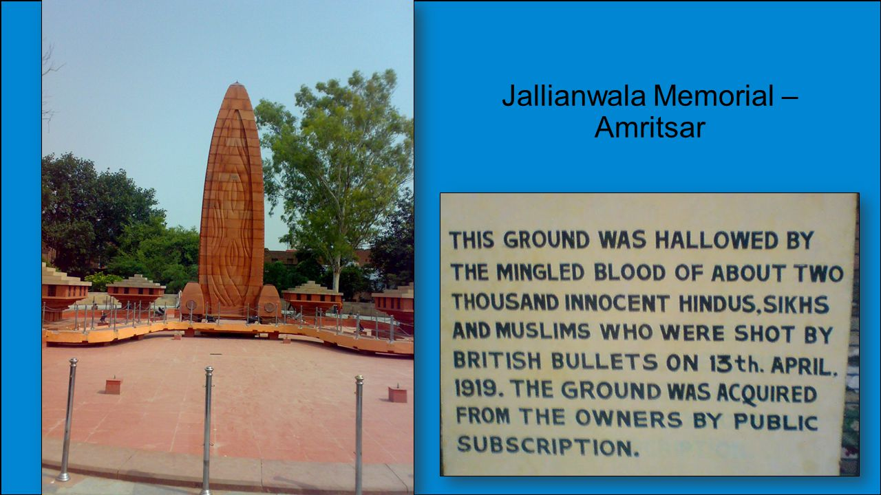 Jallianwala Memorial – Amritsar