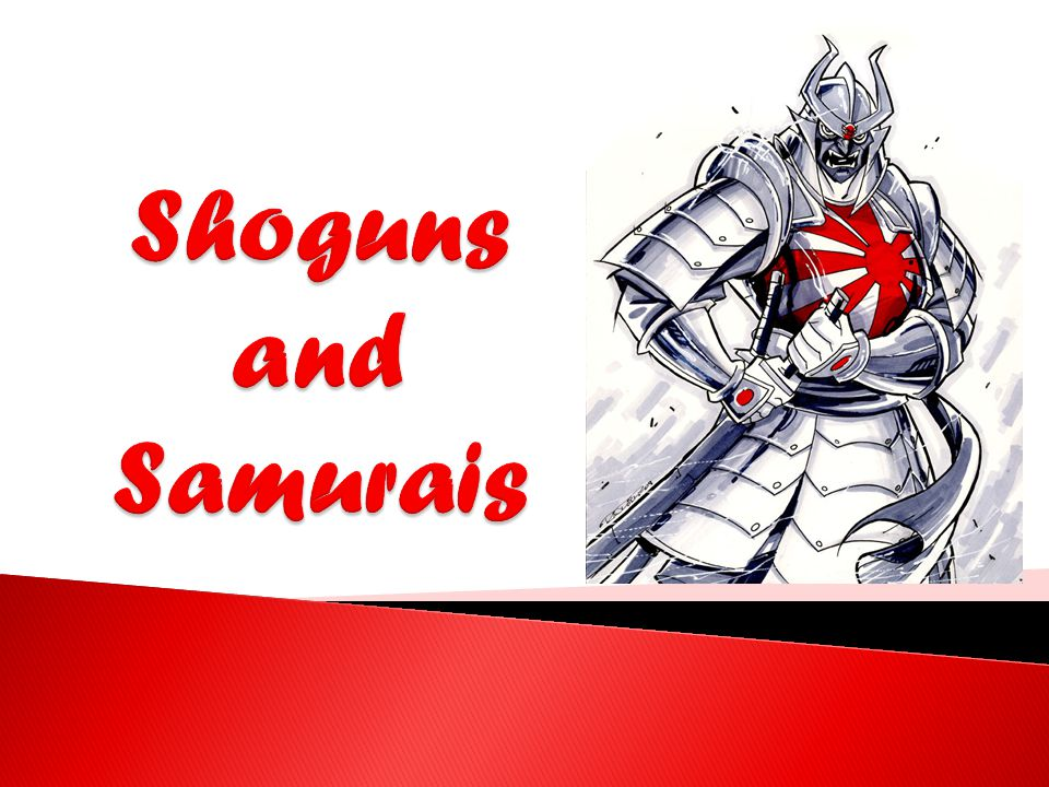 Shoguns and Samurais