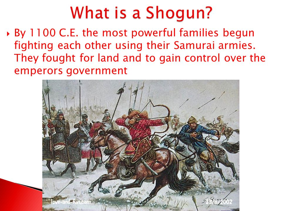 What is a Shogun