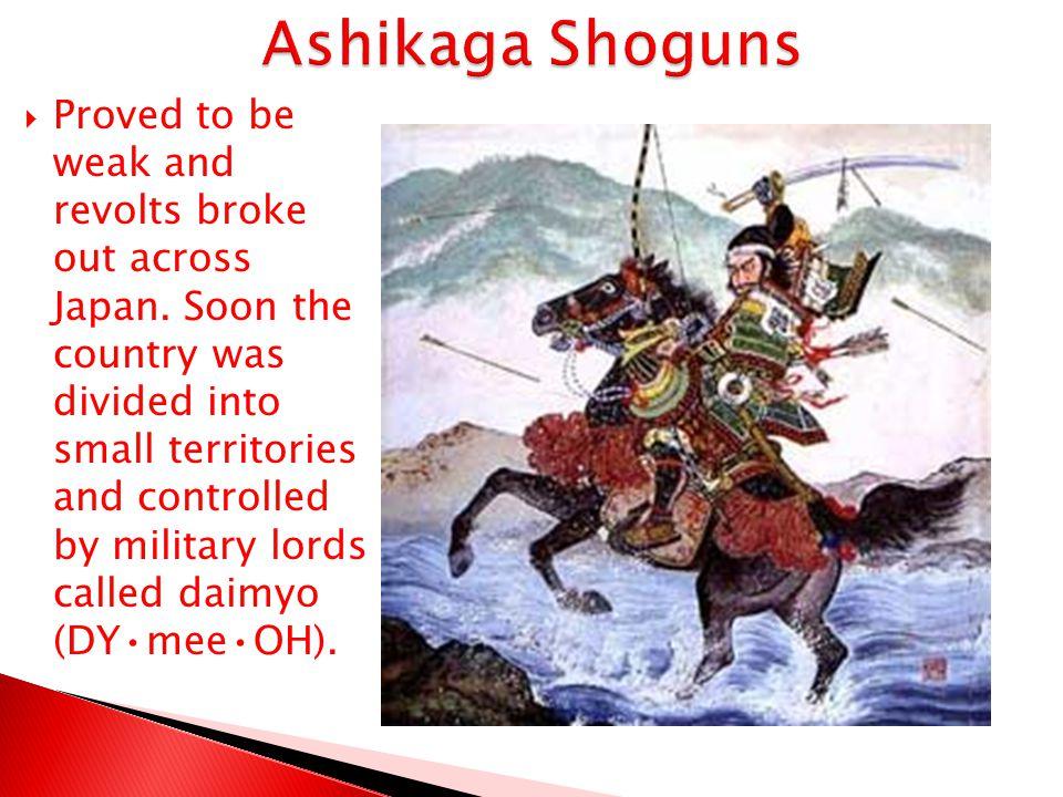Ashikaga Shoguns