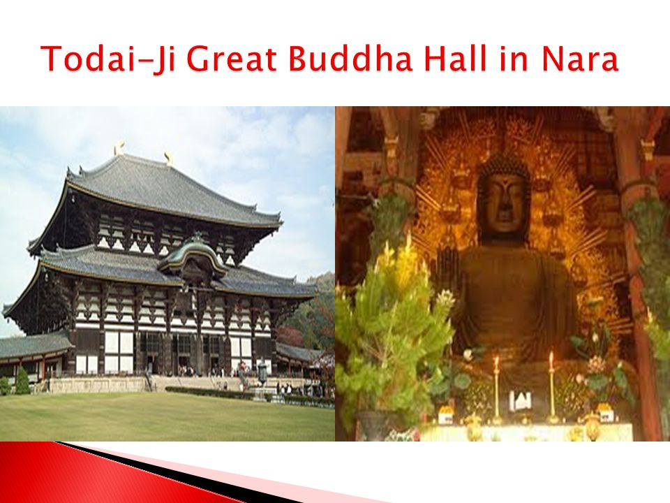 Todai-Ji Great Buddha Hall in Nara