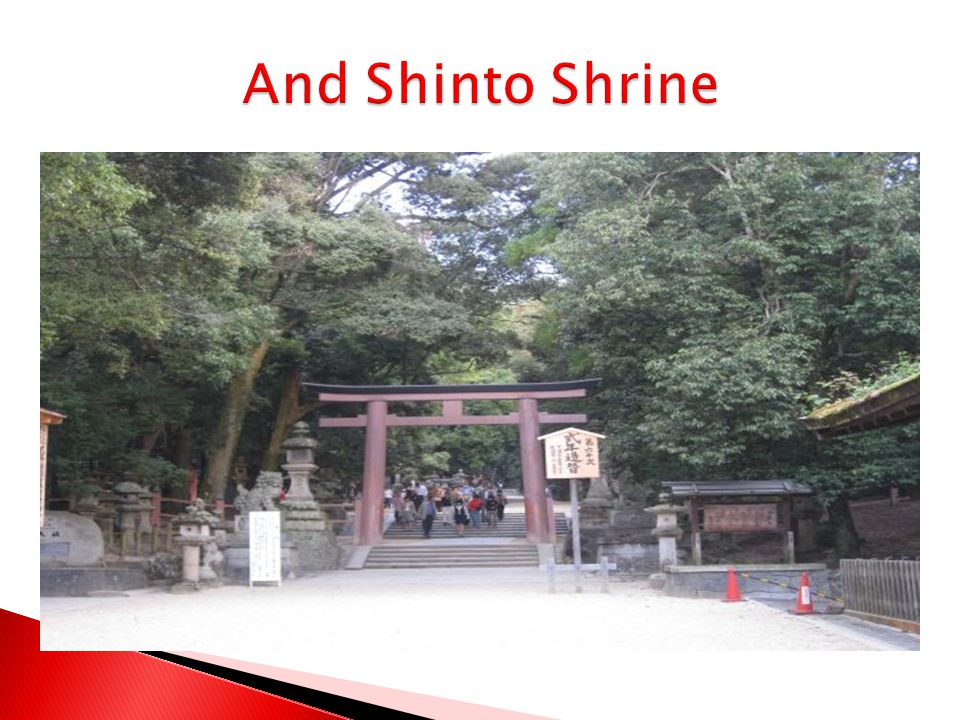 And Shinto Shrine