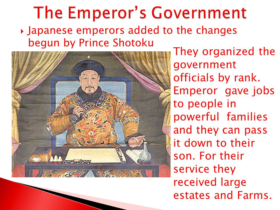 The Emperor's Government