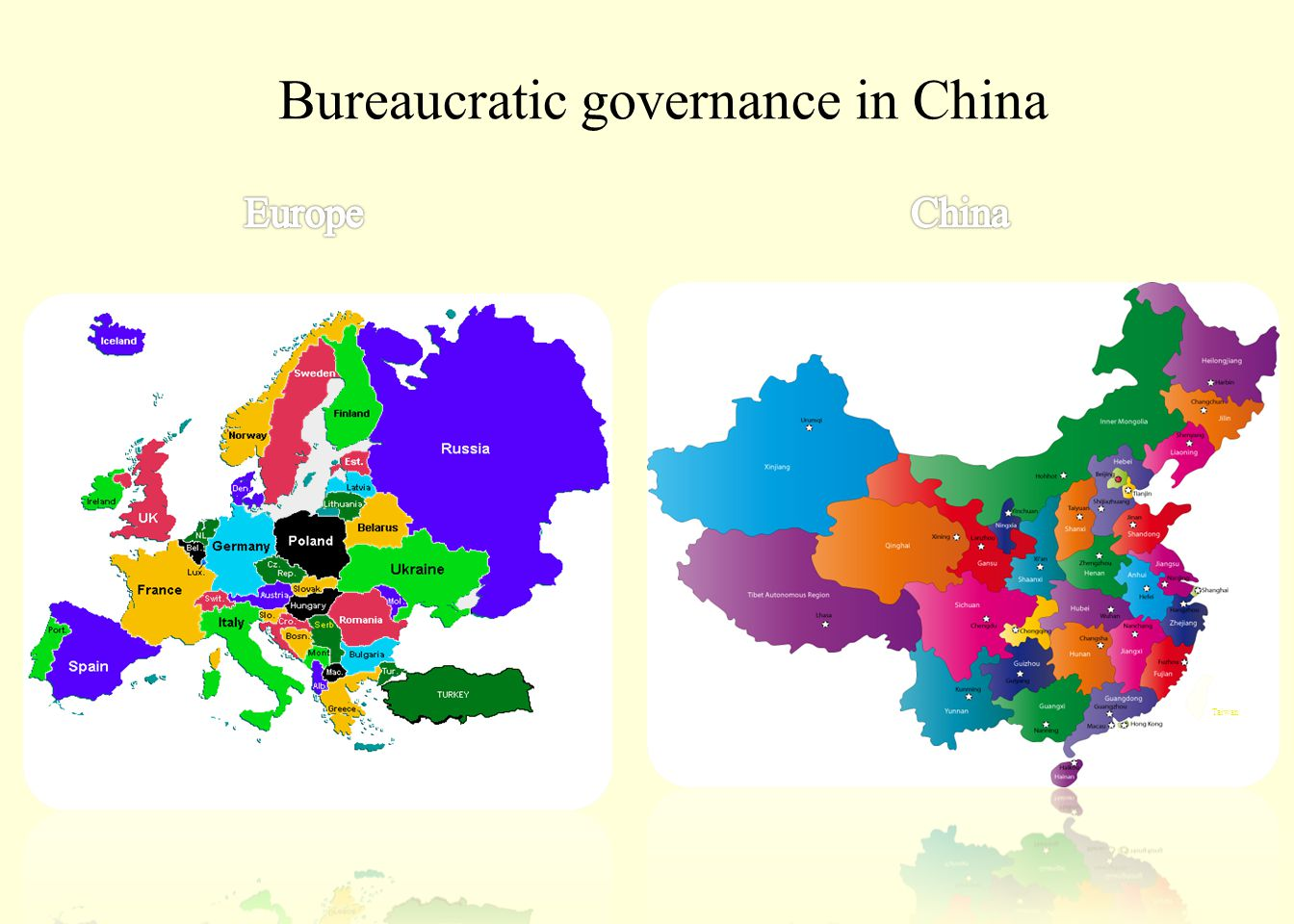 Bureaucratic governance in China