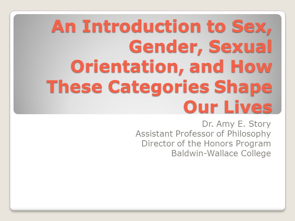 an introduction to sex segregation and sex differences Industrial and occupational sex segregation in does industrial sex segregation exist, net of differences in the gender-specific job choices, and sex.