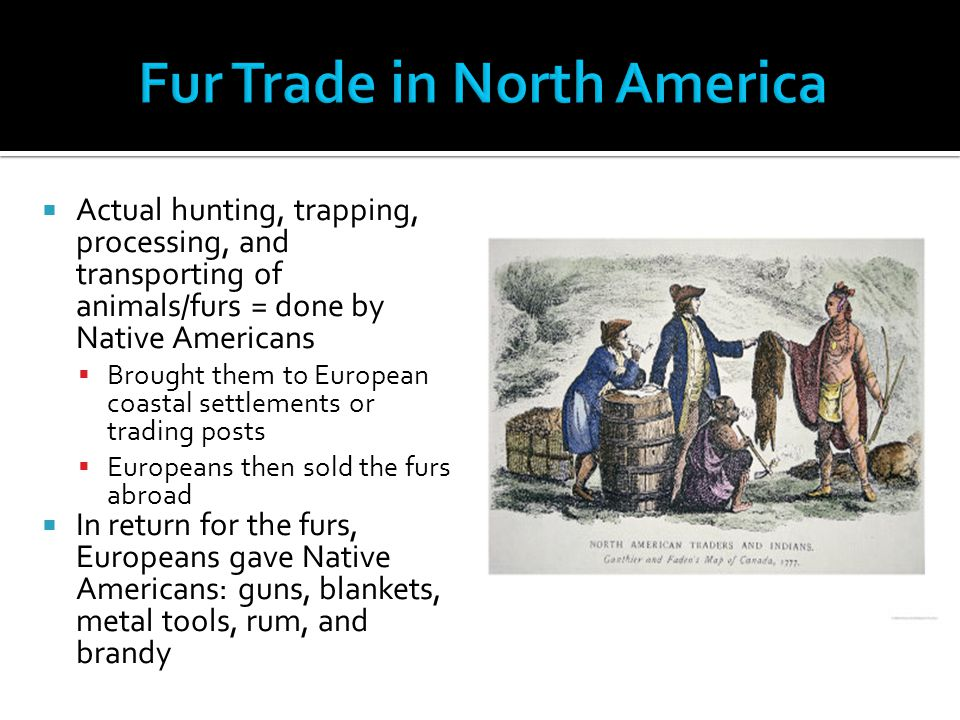 Fur Trade in North America