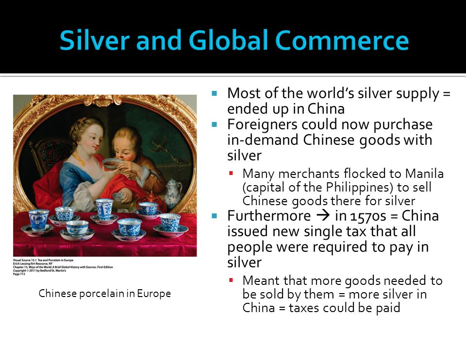 Silver and Global Commerce