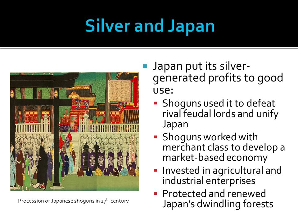 Procession of Japanese shoguns in 17th century