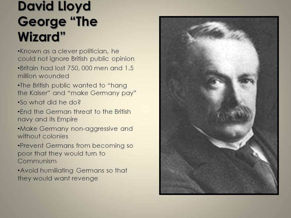 David Lloyd George The Wizard