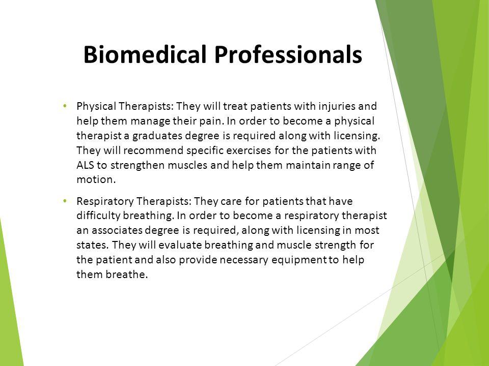 Biomedical Professionals