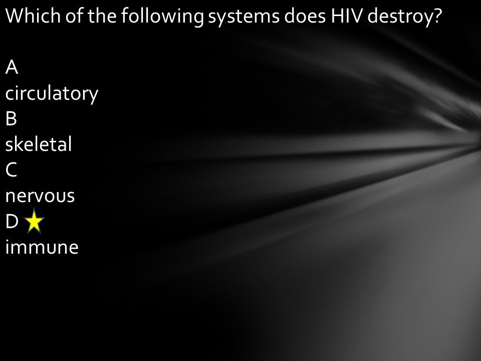 Which of the following systems does HIV destroy