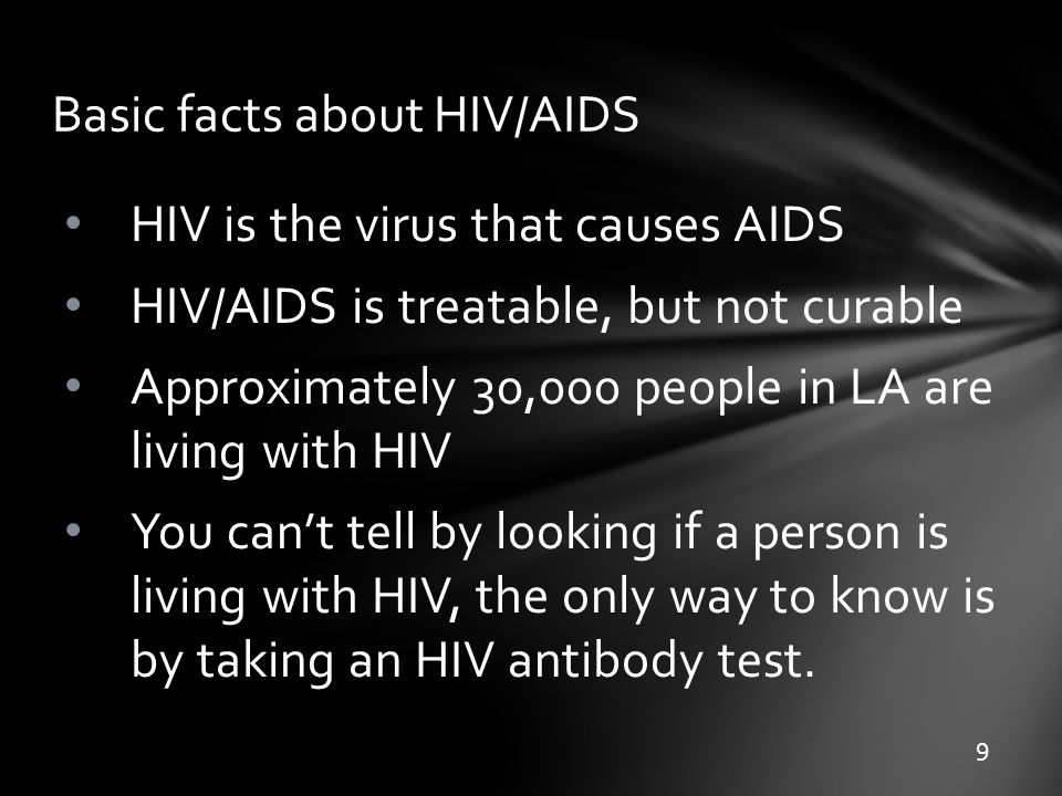 Basic information on hiv and aids