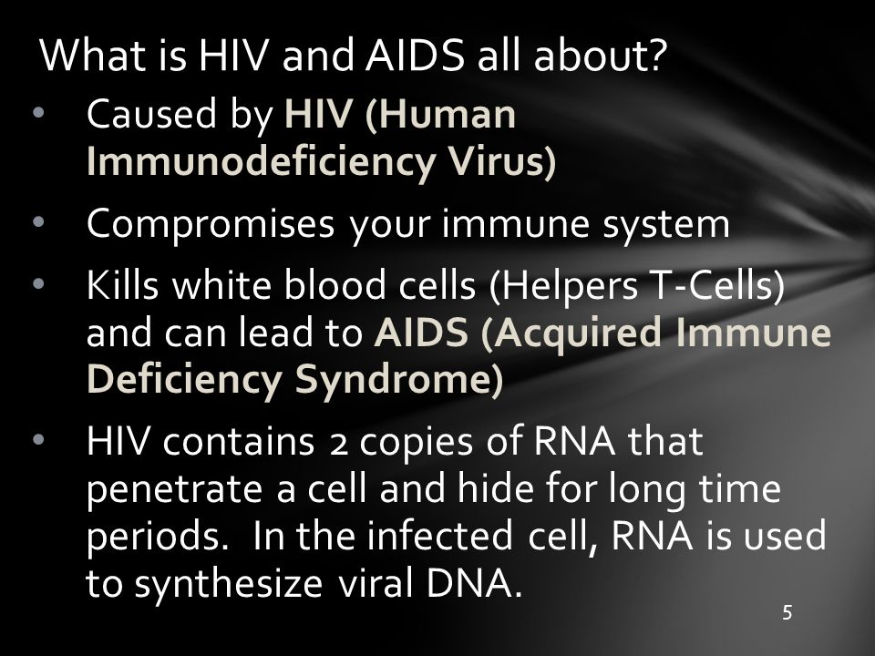 What is HIV and AIDS all about