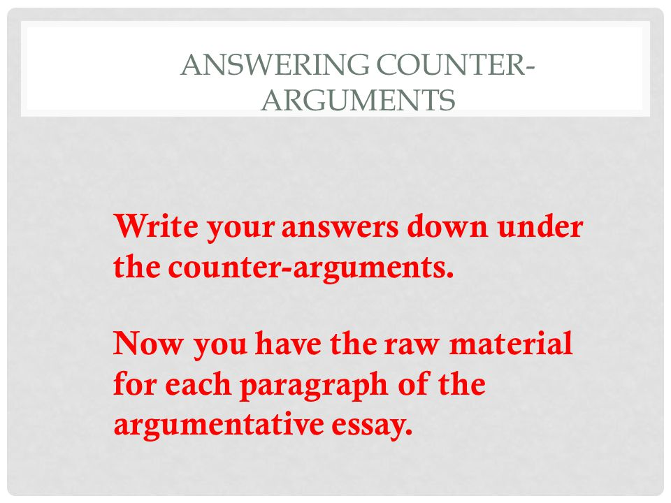 support your thesis compelling arguments counterarguments Your thesis is the one sentence in your essay that announces your argument to your reader your thesis is your essay's central argument that you must consider finding compelling reasons to support your an assertion that must be supported with evidence and refuting counterarguments.
