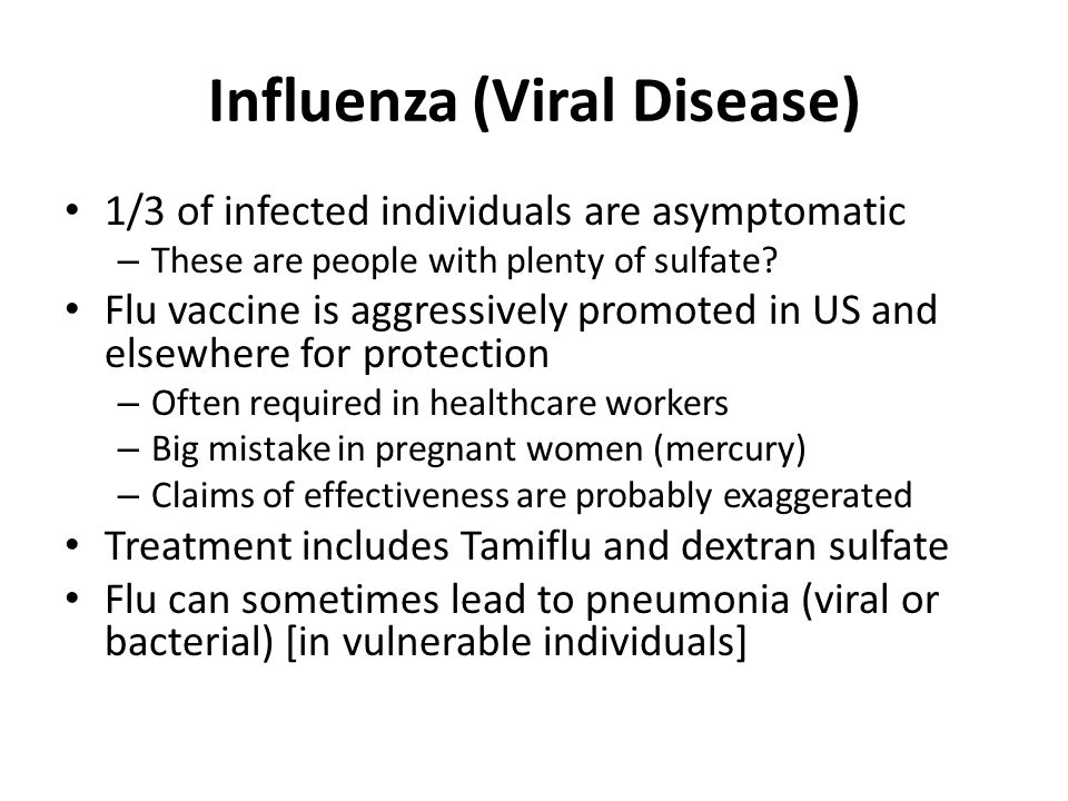 Influenza (Viral Disease)