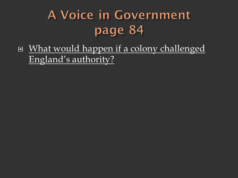 A Voice in Government page 84