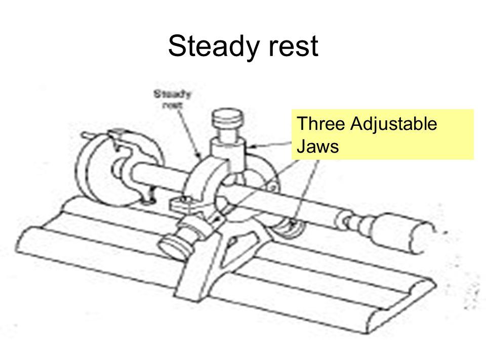 Steady rest Three Adjustable Jaws