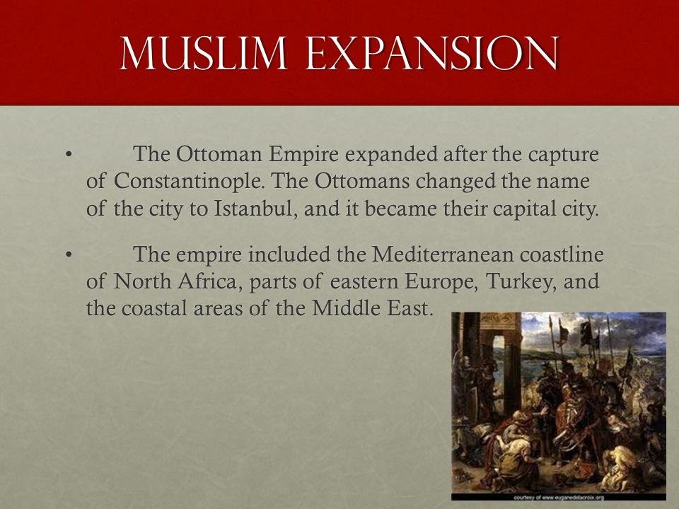 Muslim Expansion