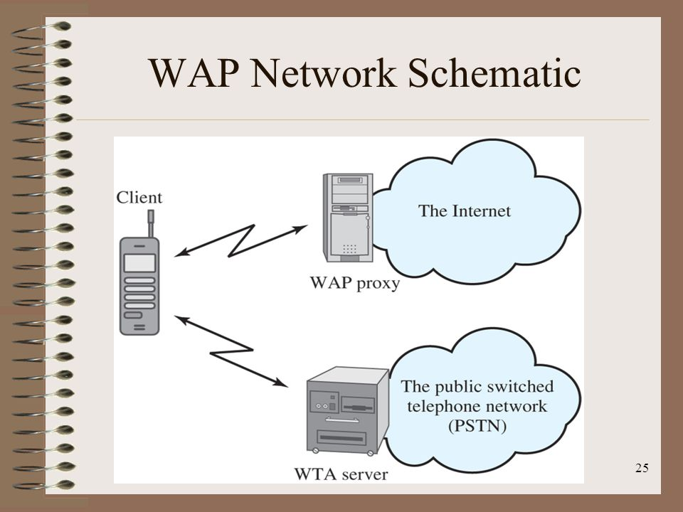 WAP Network Schematic
