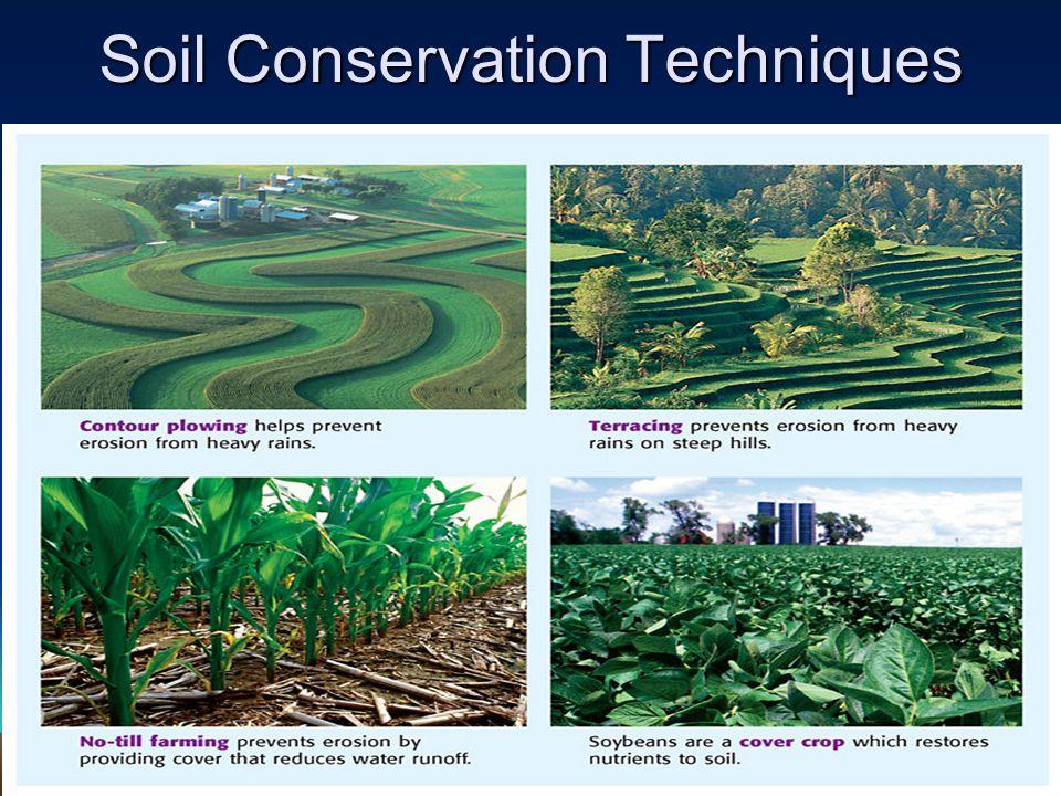 Soil Conservation Techniques
