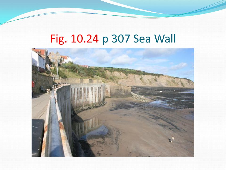 Fig. 10.24 p 307 Sea Wall