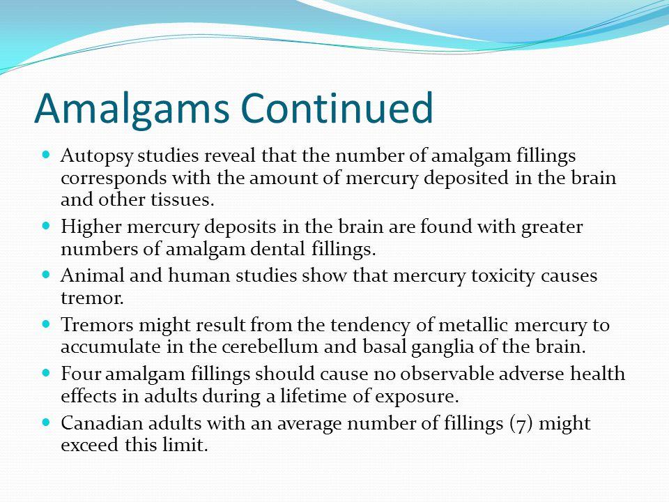Amalgams Continued
