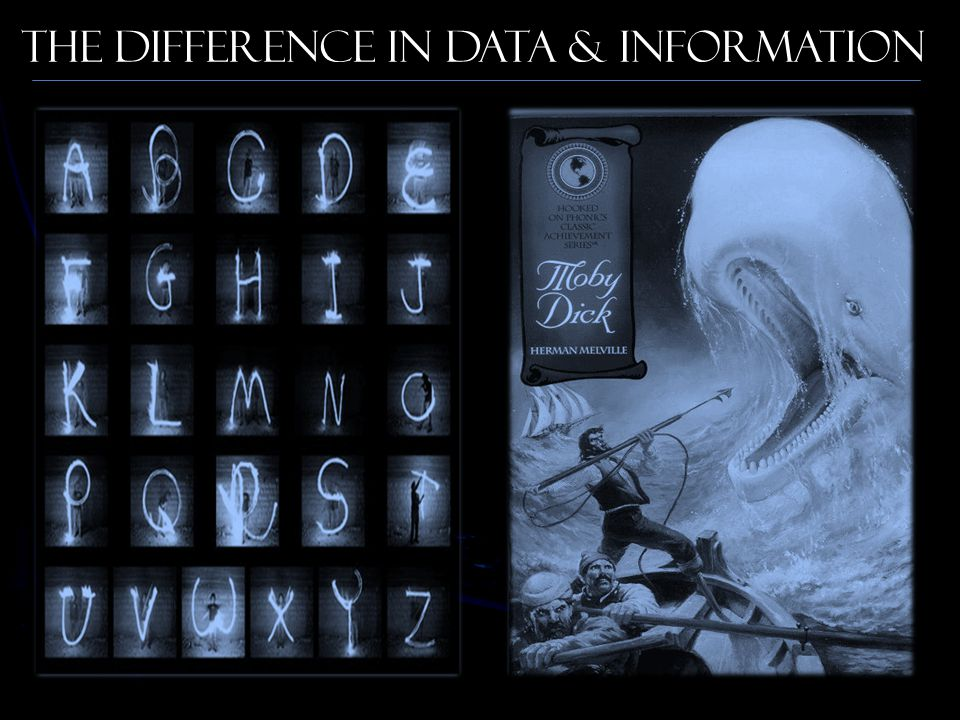 The Difference in Data & Information