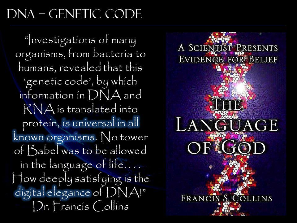 DNA – Genetic Code