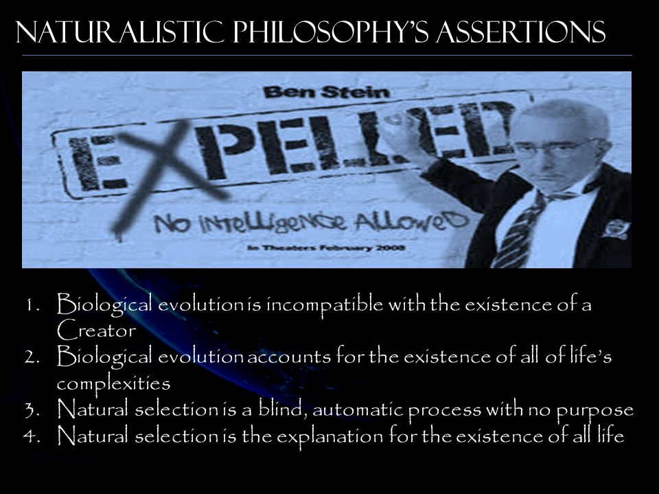 Naturalistic Philosophy's Assertions
