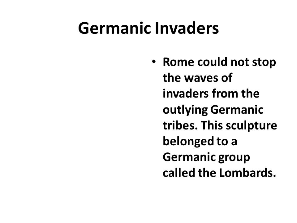 Germanic Invaders