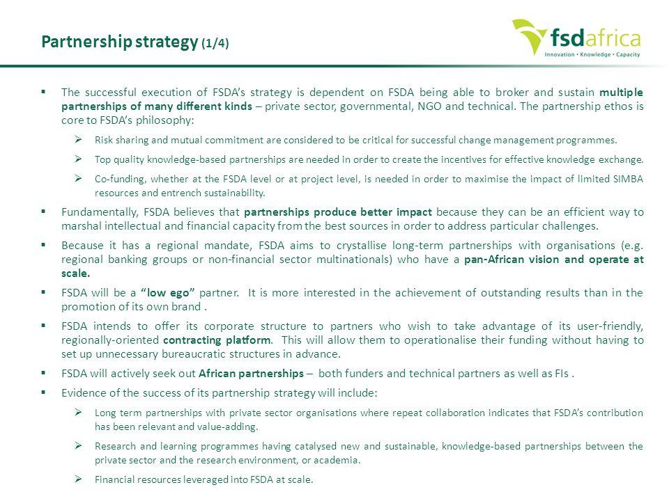 Partnership strategy (1/4)