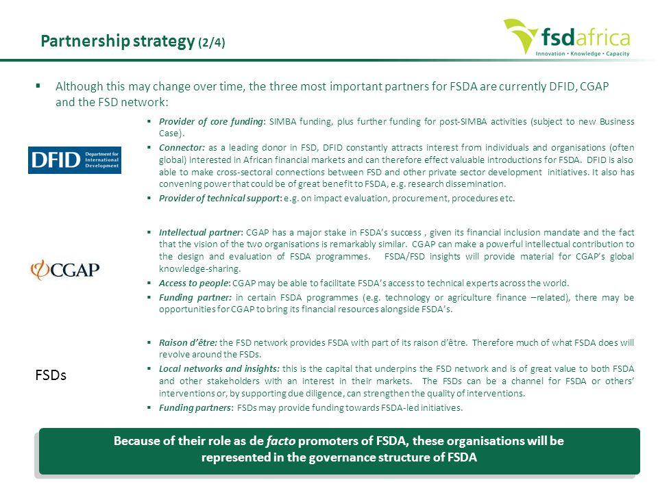 Partnership strategy (2/4)
