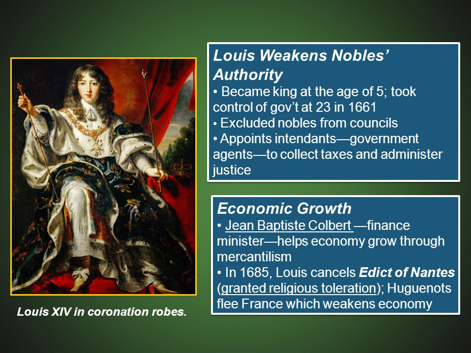 Louis Weakens Nobles' Authority