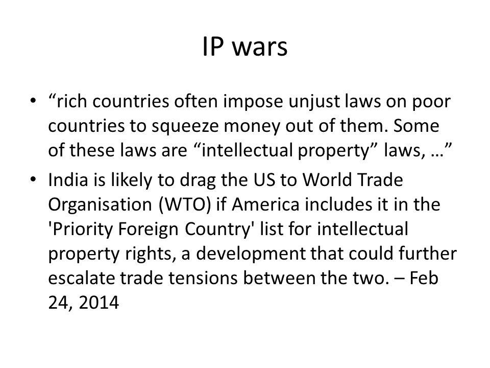 IP wars