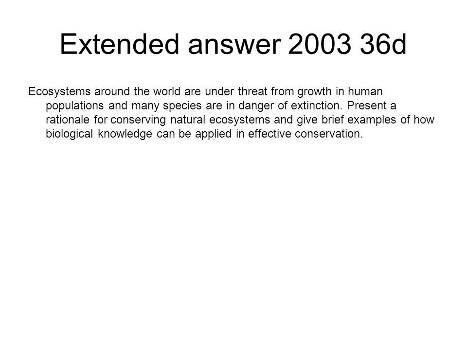Extended answer 2003 36d