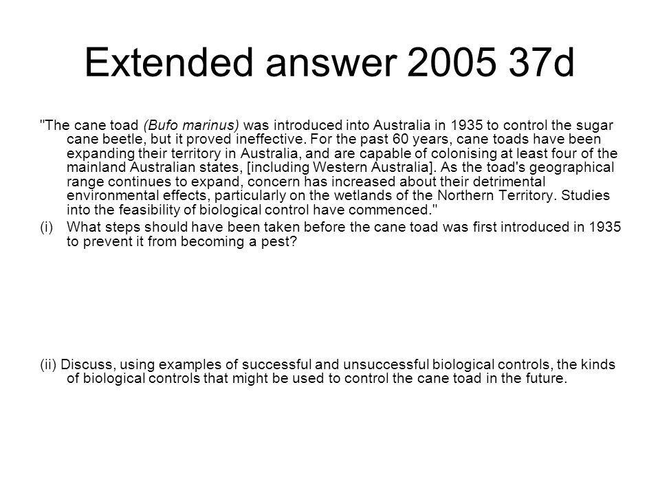 Extended answer 2005 37d